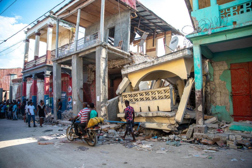 Haiti Earthquake Jeremie